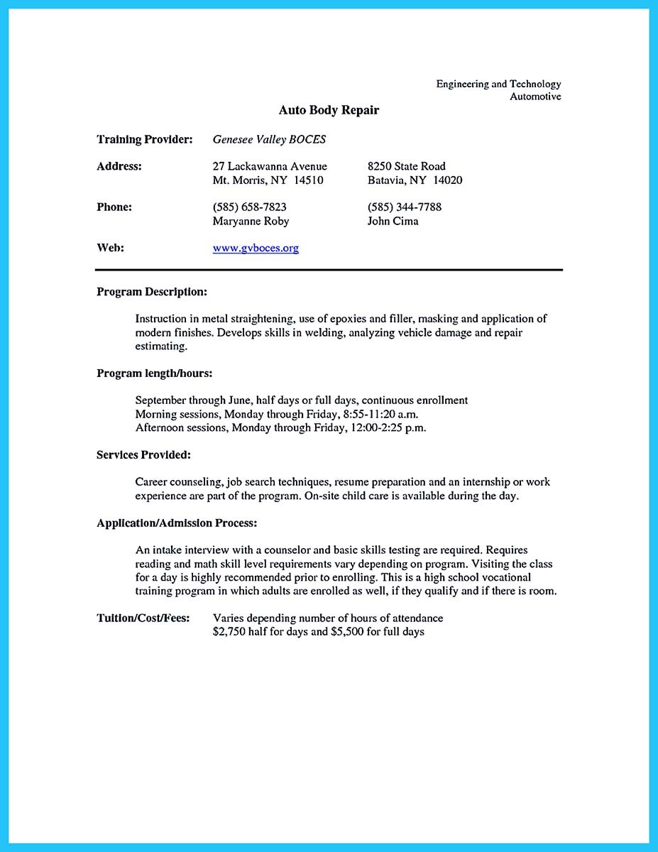 auto mechanic resume pdf_001