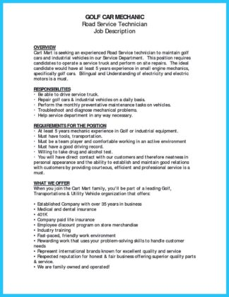 Delivering Your Credentials Effectively on Auto Mechanic Resume  %Image Name