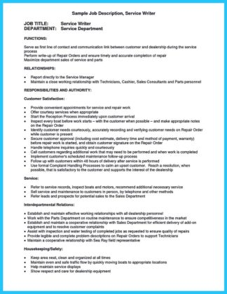 automotive resume cover letter examples