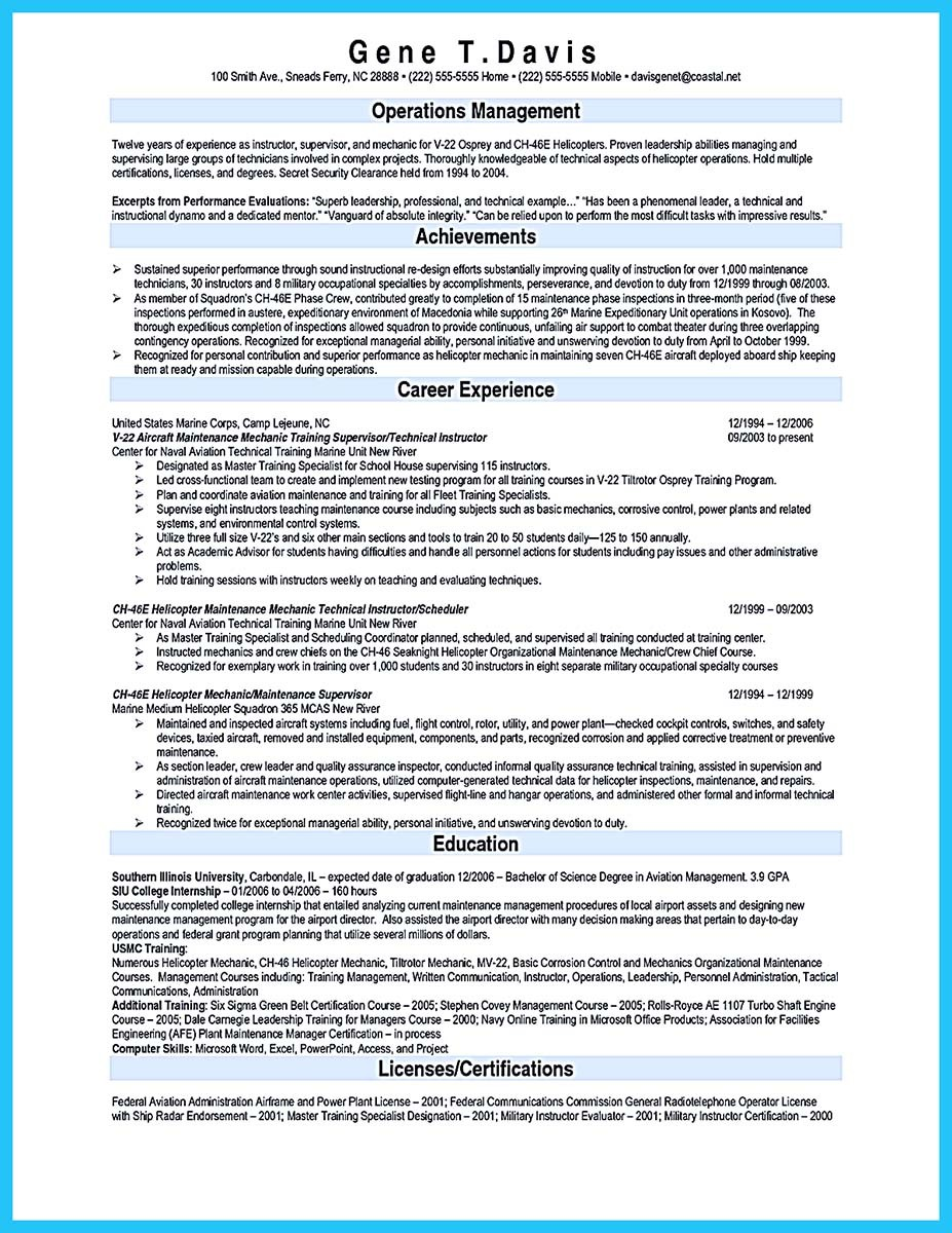 Arranging A Solid Automotive Resume