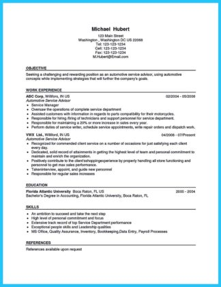 writing your great automotive technician resume how to write a