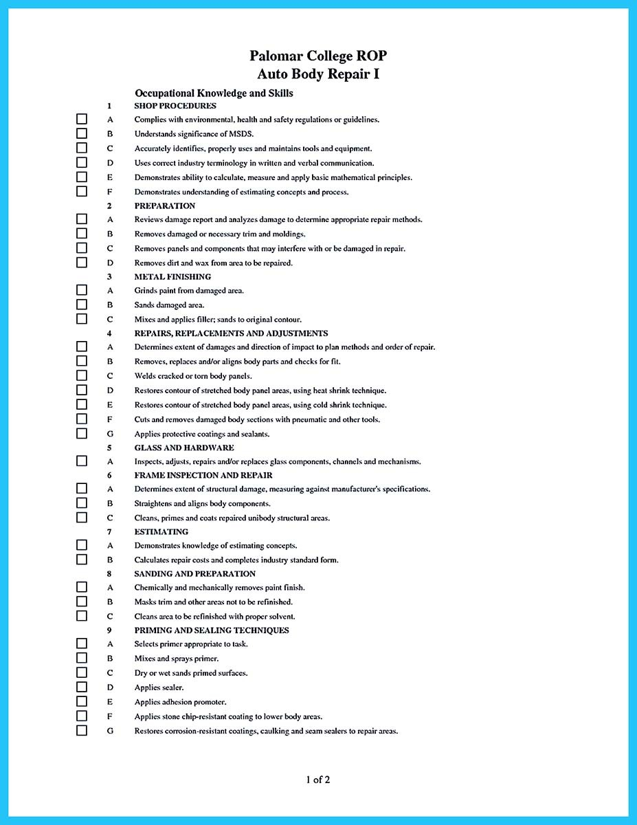assembly technician resume auto mechanic resume sample auto technician resume automotive executive resume template environmental services technician sample resume