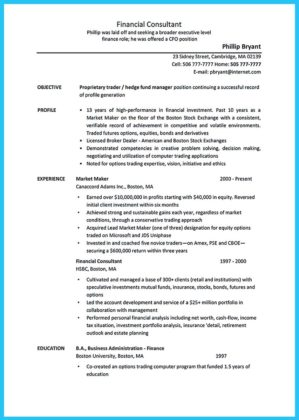 bachelor in business administration resume