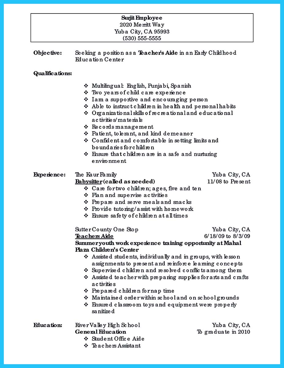 baker cake decorator resume