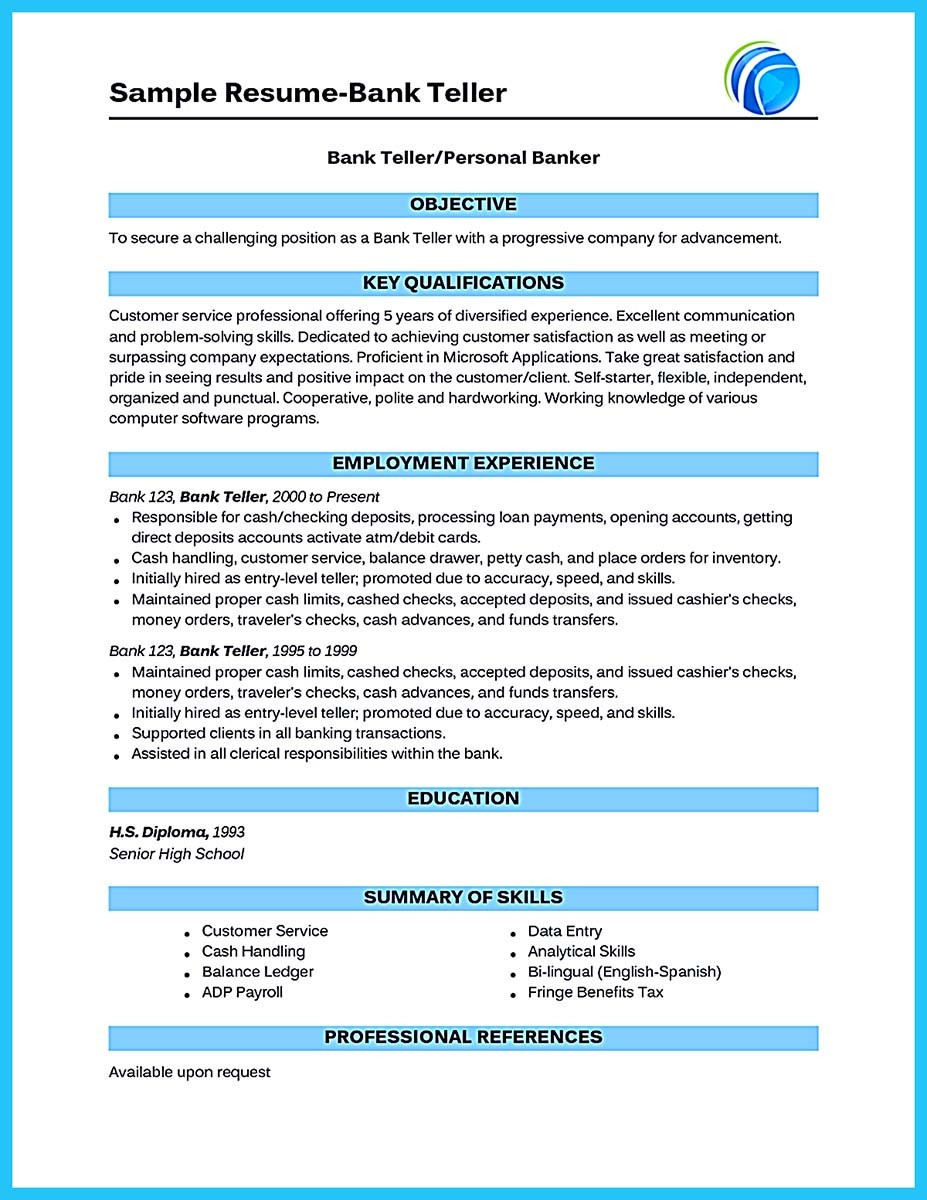 banking teller resume sample teller resume sample banking resume teller resume sle bank bank teller resume - Sample Bank Teller Resume