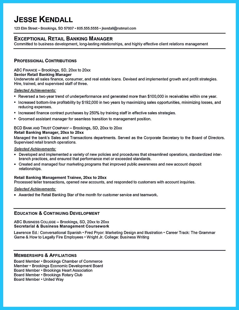 ... Bank Teller Resume Samples Free ...  Teller Resume Sample