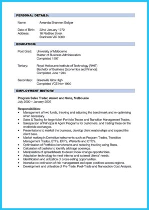 banking and finance resume examples and resume examples for banking managers