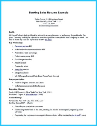 banking jobs resume examples and banking resume examples