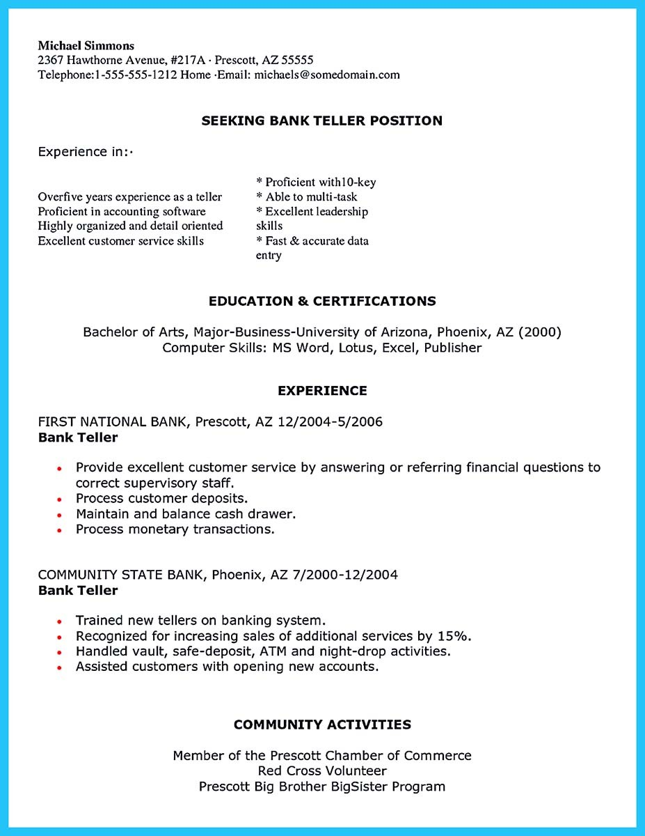 banking resume examples and banking branch manager resume examples