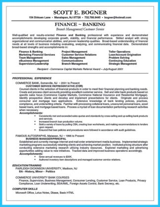 banking resume objective statement examples and resume headline examples for banking