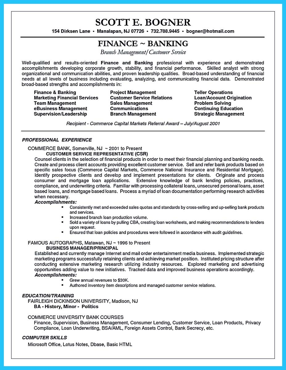 ... Banking Resume Objective Statement Examples And Resume Headline Examples  For Banking ...
