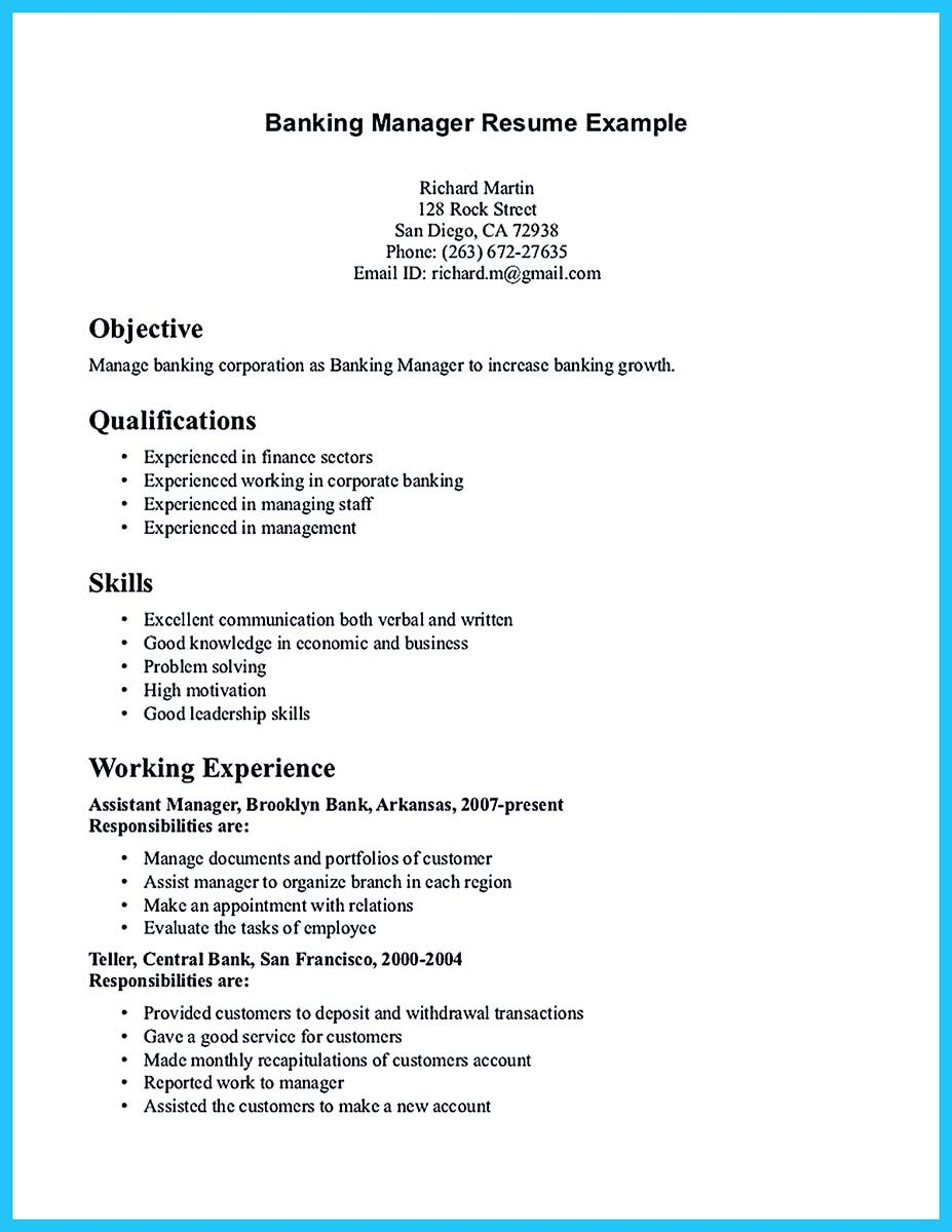 banking resume samples canada and bank resume sample teller