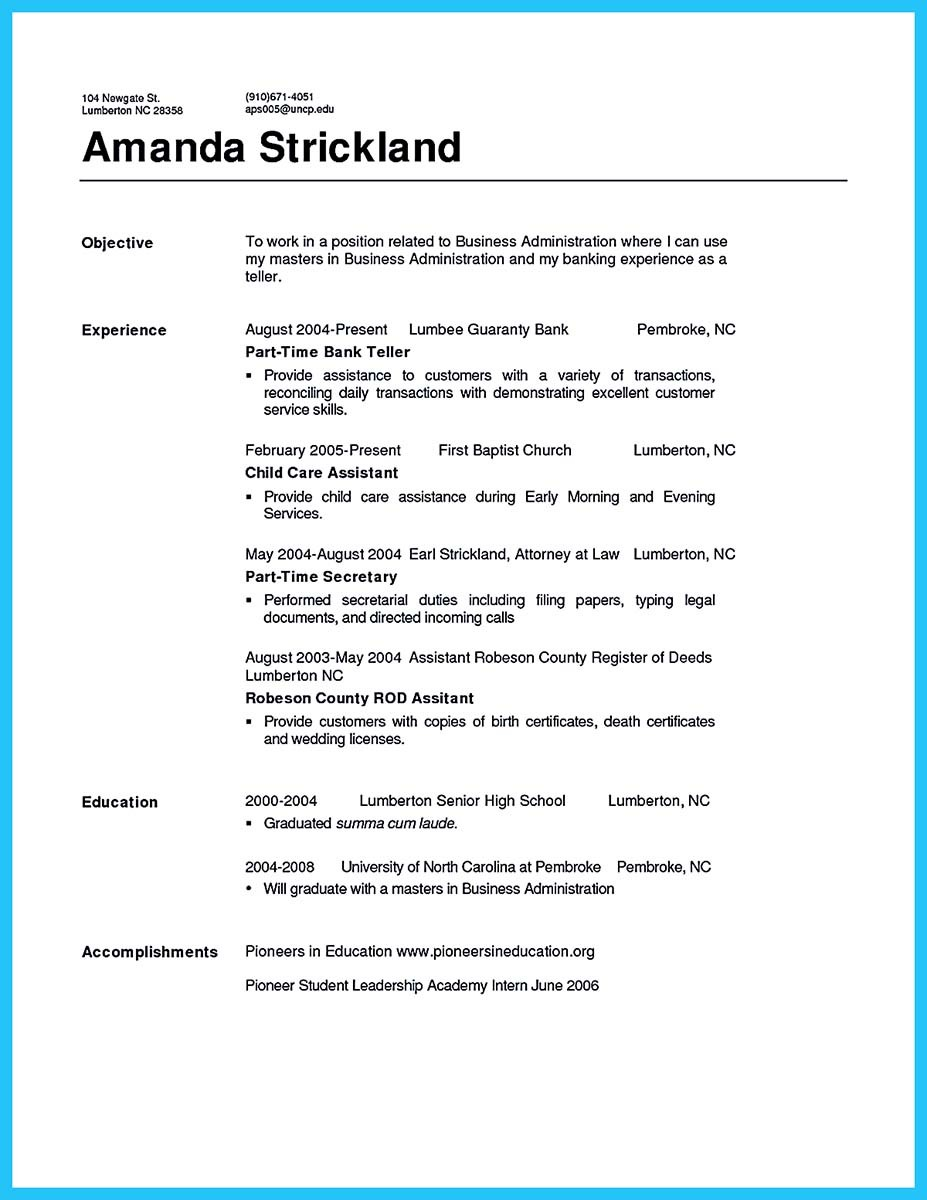 banking resume samples free and bank teller resume sample objective