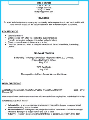 bar general manager resume and bar and restaurant manager resume