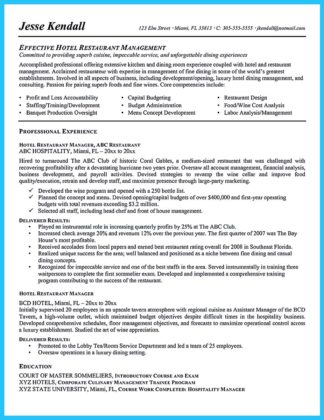 bar manager resume example and bar manager resume cover letter