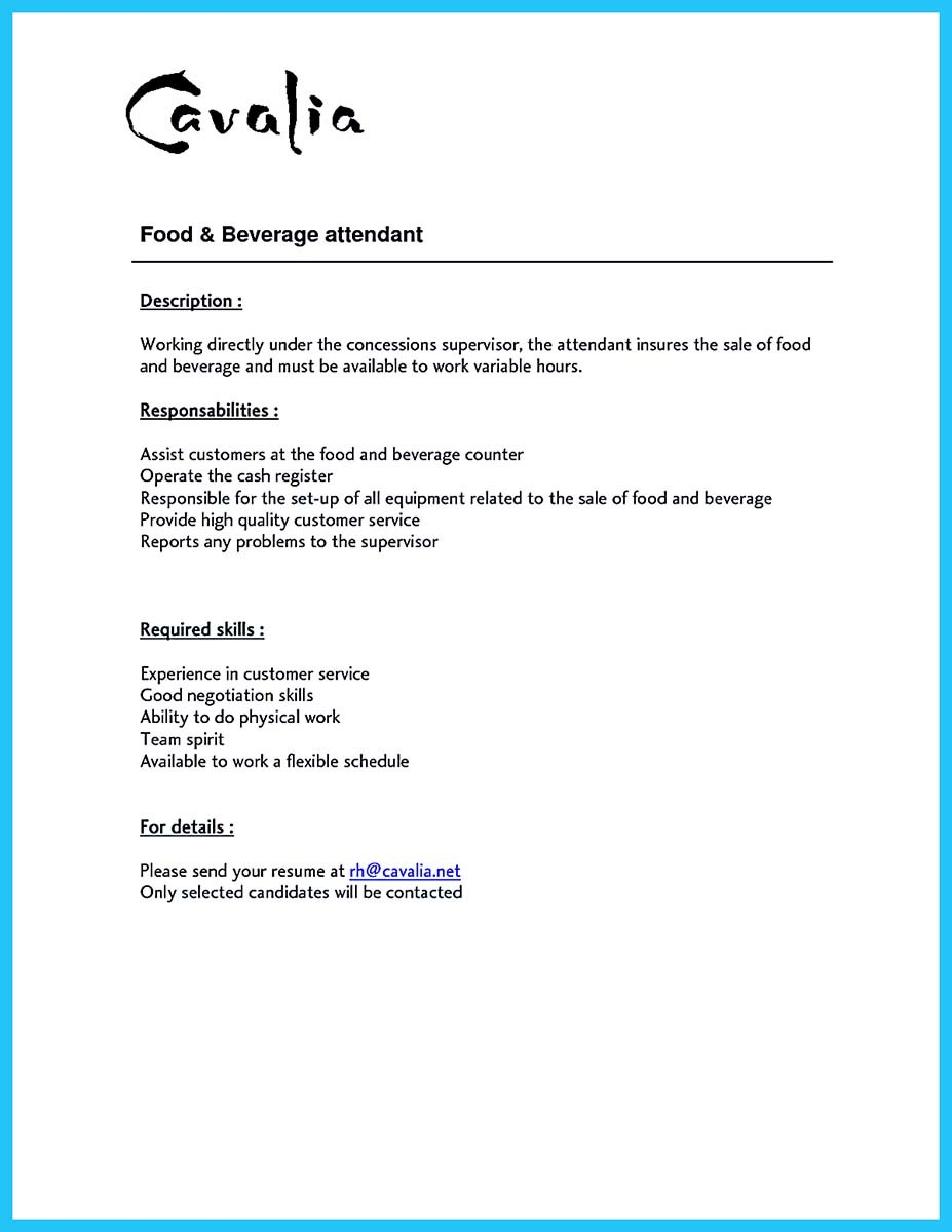 Impress The Recruiters With These Bartender Resume Skills