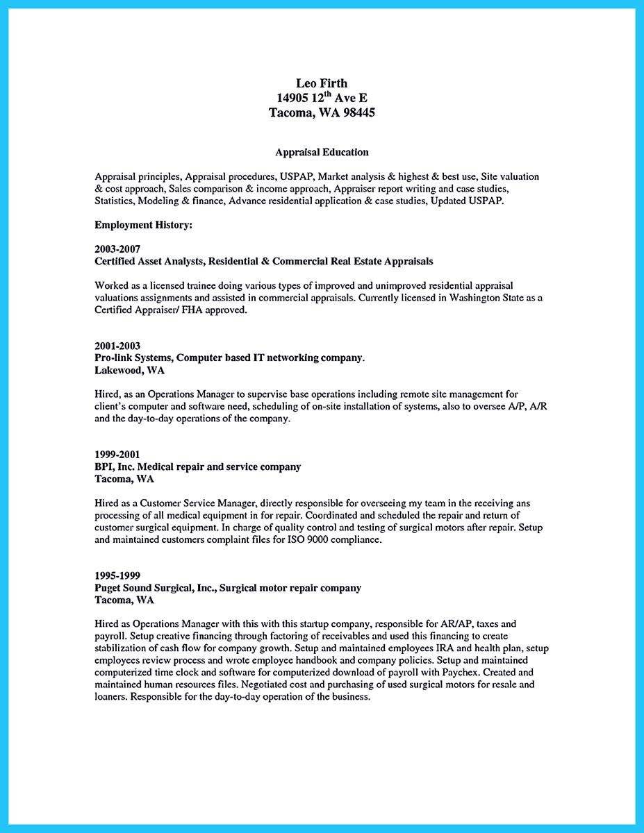 basic auto mechanic resume