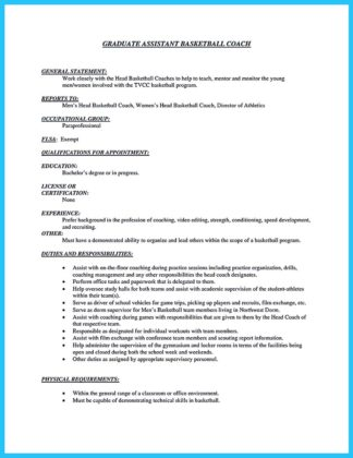 Cheerleading Coach Resume Powerpointpower Com Sample Resume For College  Basketball Coach Resume Pdf Download Good Examples