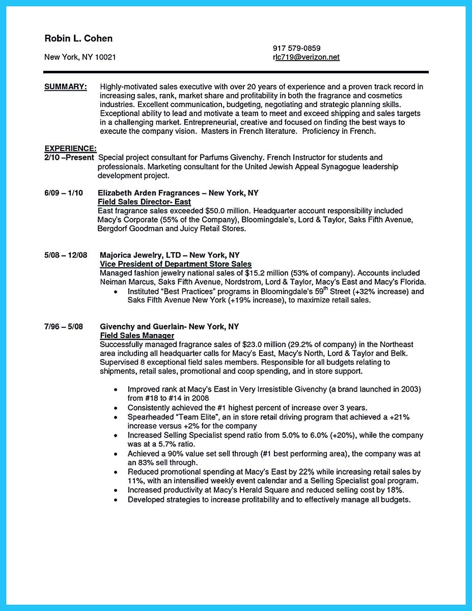 Beautiful Beauty Advisor Resume That Brings You to Your Dream Job