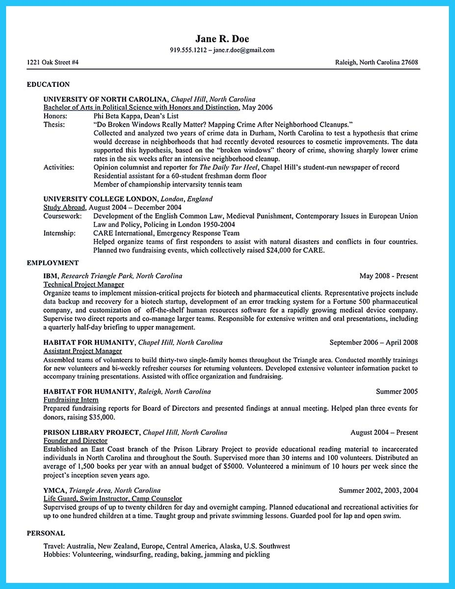 best barista resume sample