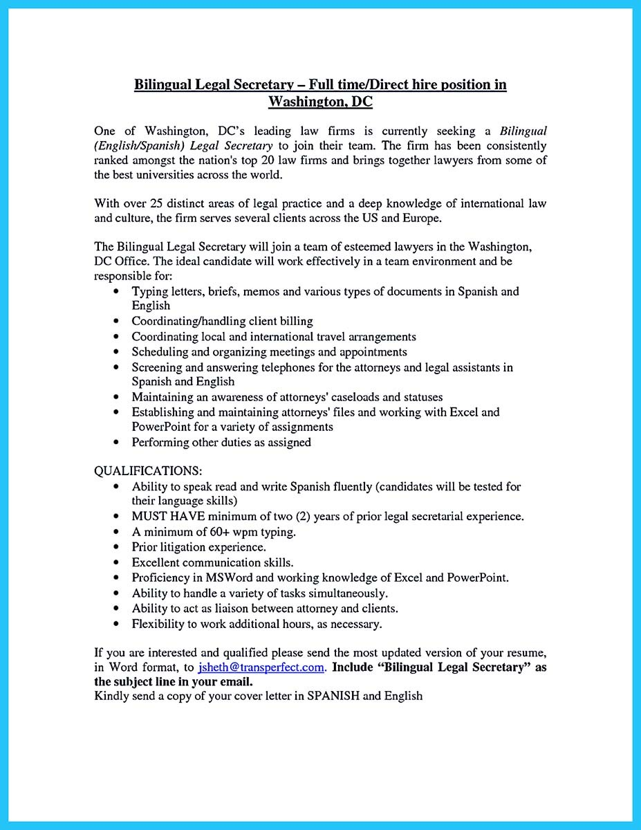 bilingual resume examples and bilingual secretary resume. Resume Example. Resume CV Cover Letter