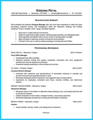 Breathtaking Facts about Bilingual Resume You Must Know  %Image Name
