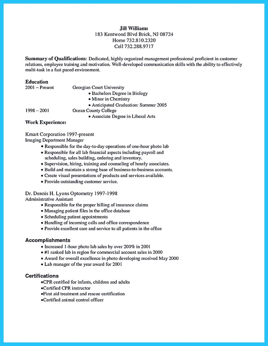 exciting billing specialist resume that brings the to you