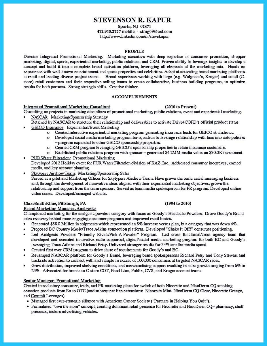 brand ambassador resume objective and brand ambassador job objective for resume