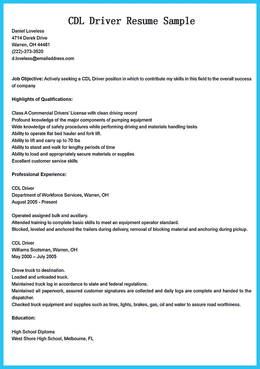 bus driver job description for resume and ttc bus driver resume