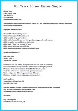 bus driver resume objective and resume for bus driver template