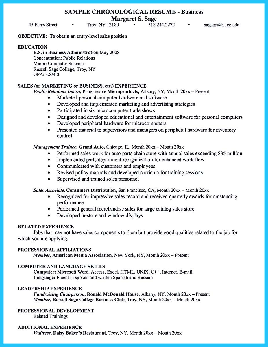 Cover Letter Chiropractic Associate Sample Resume For Banquet Sales Manager  Hotel Sales Manager Resume Sample Three  Business Administration Resume