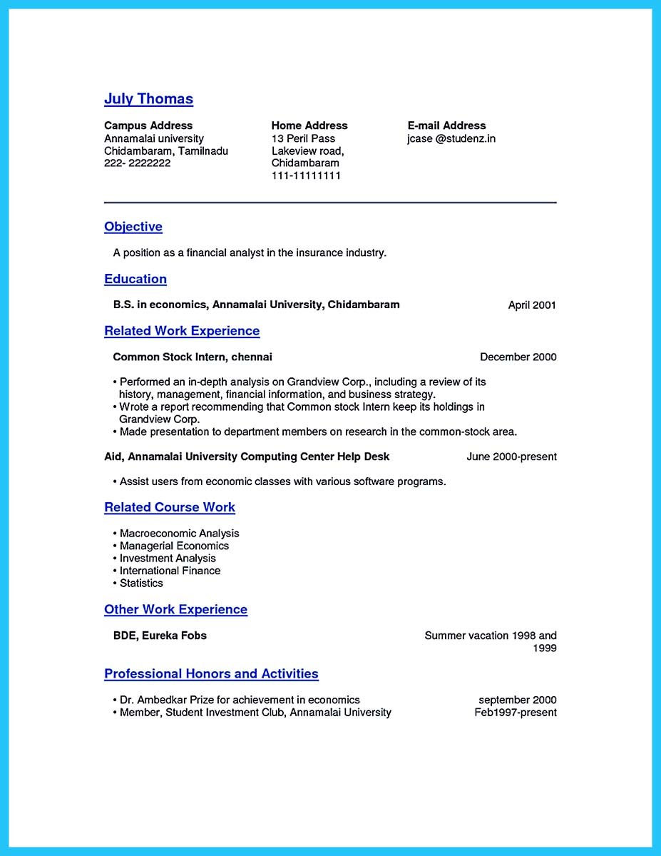 business analyst resume 2016