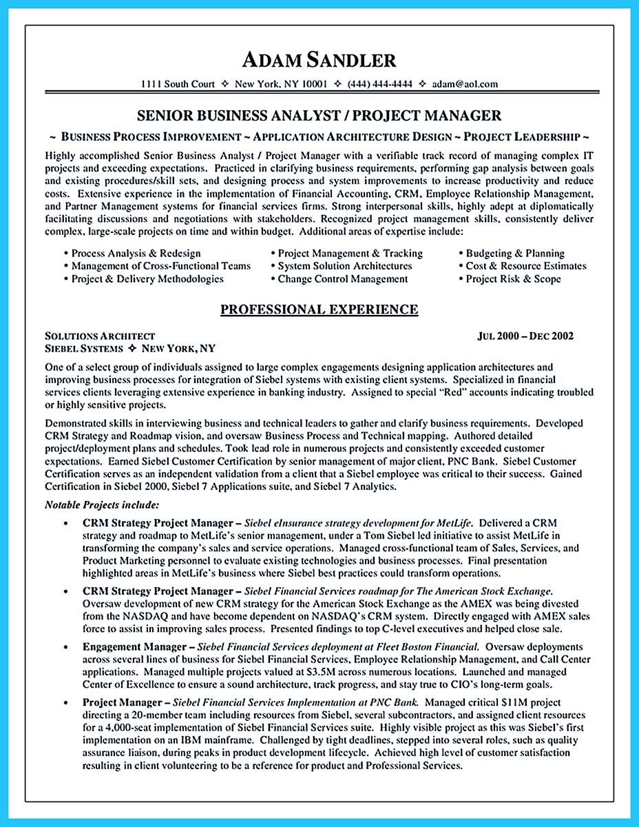 Nice Amusing Resume Analyst Brefash LiveCareer Business Analyst Resume Sample