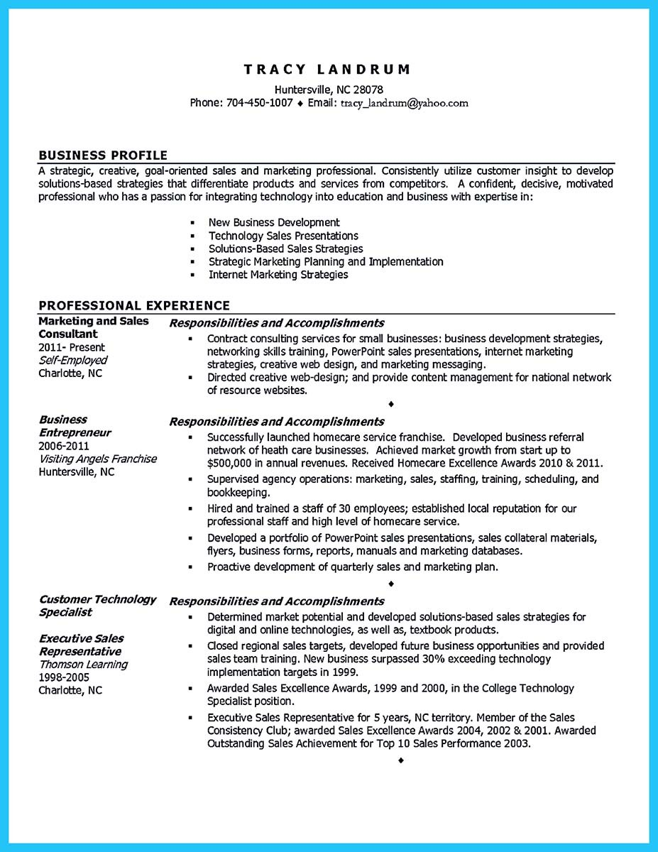 resume development