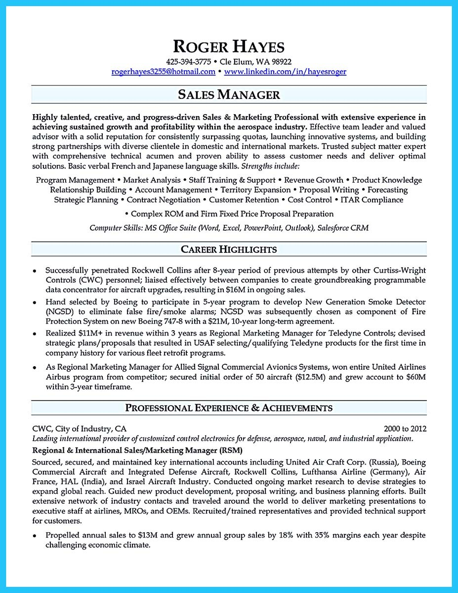 business development manager real estate resume