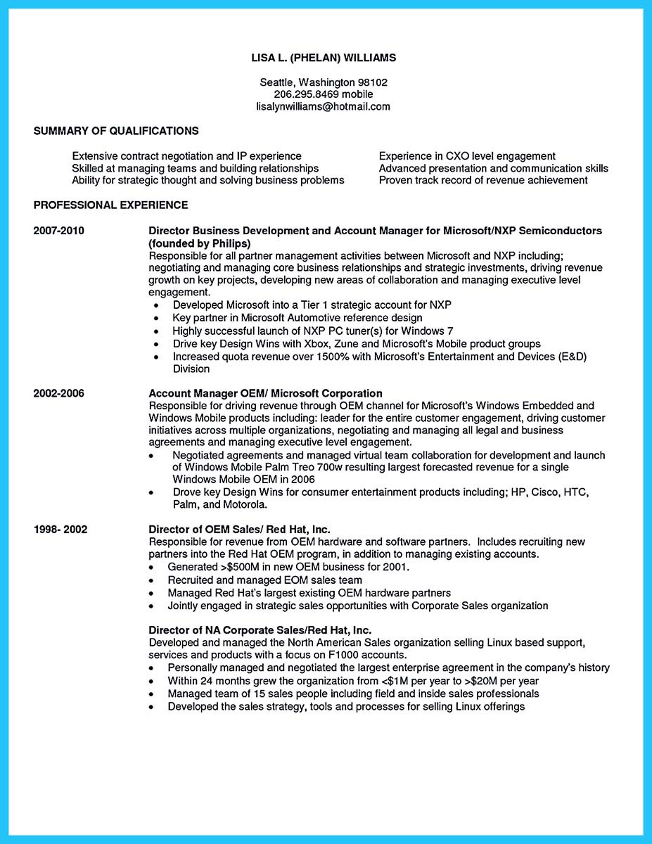 business development manager resume india