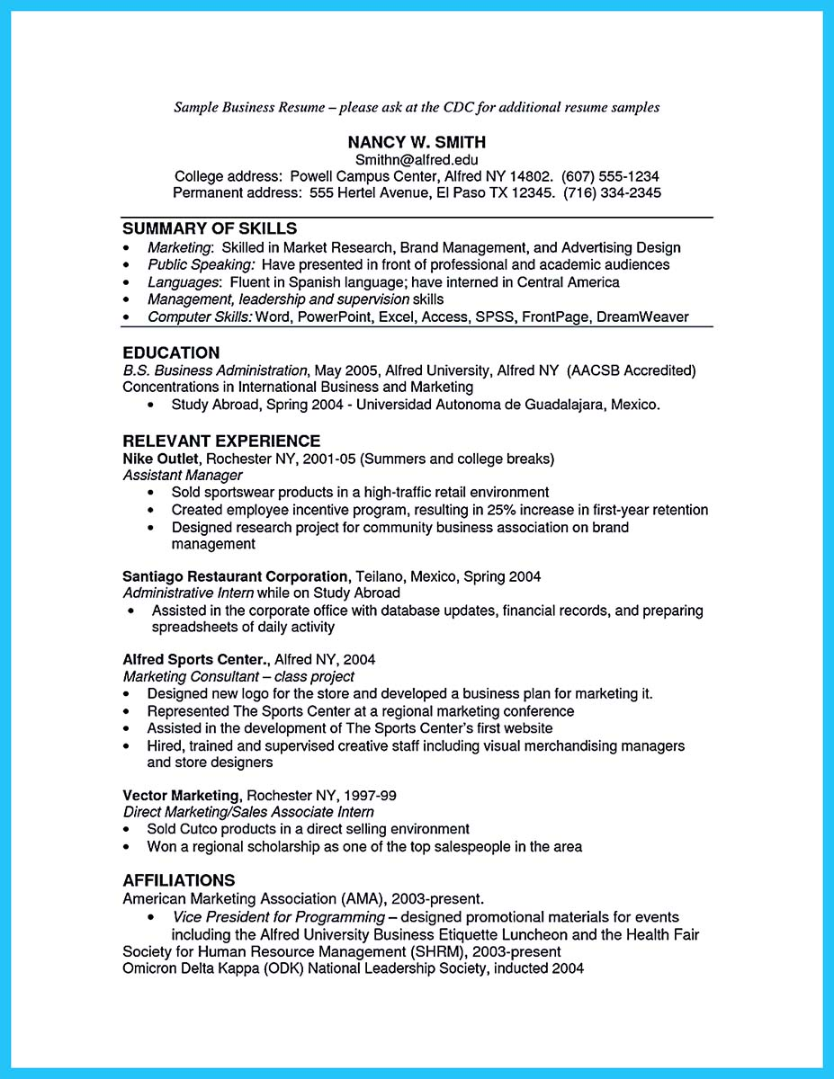 business intelligence analyst resume - International Business Resume Objective