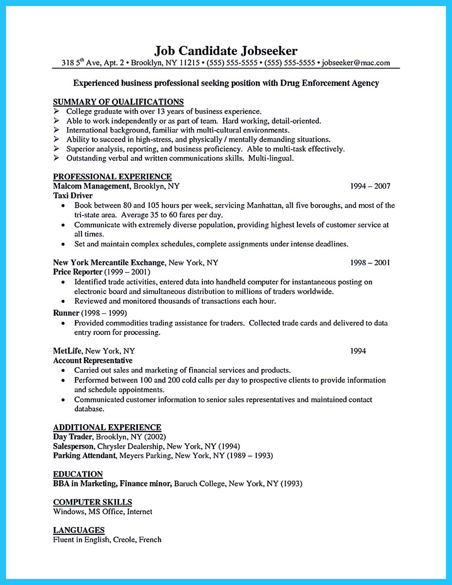 business manager resume pdf