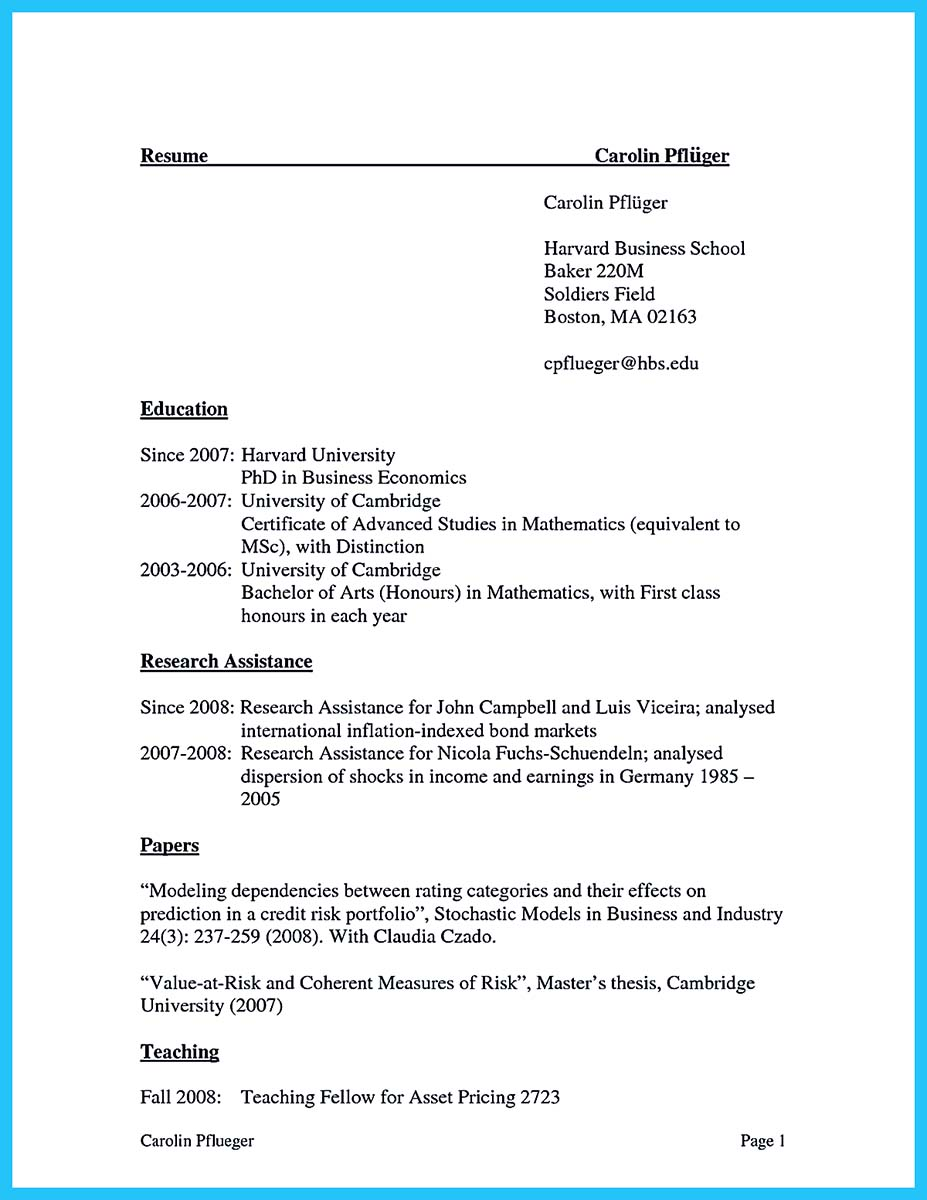 business school resume book pdf