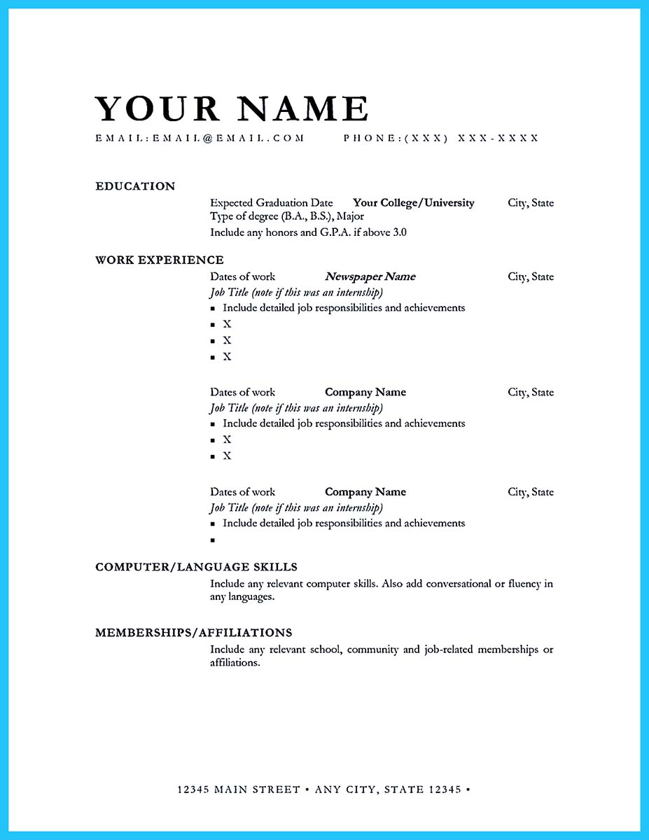 business school resume book