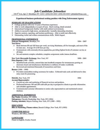 business school resume objective