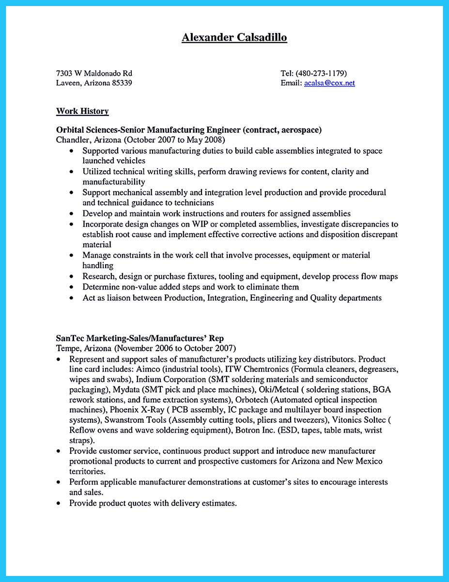 cable installer resume cover letter examples