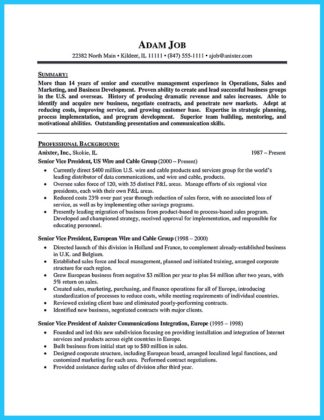 cable technician resume objective