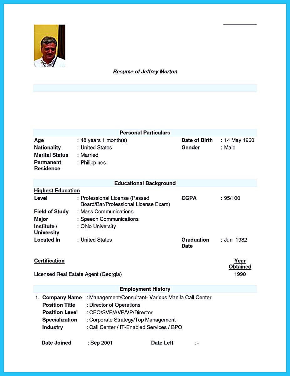 doc 8675 bpo resume samples experience 78 related docs www