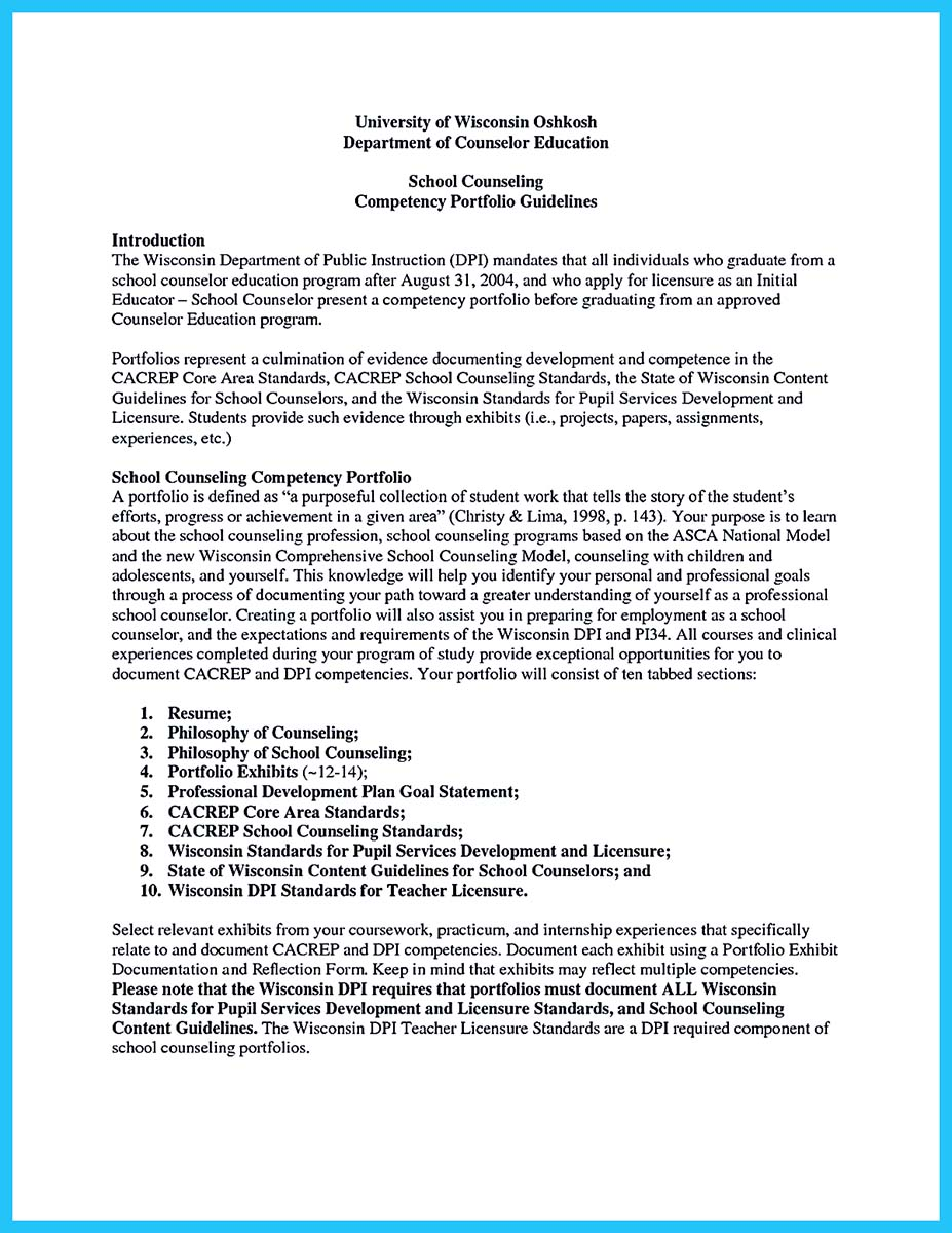 career counseling resume samples