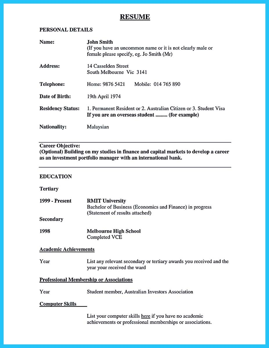 career objective examples for banking resume and resume examples for banking teller - Career Objective Examples For Resume
