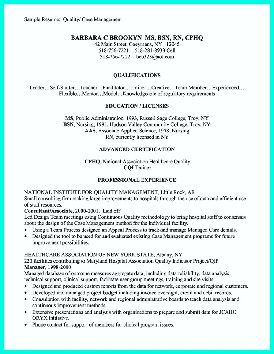 case manager resume skills and case manager resume and cover letter