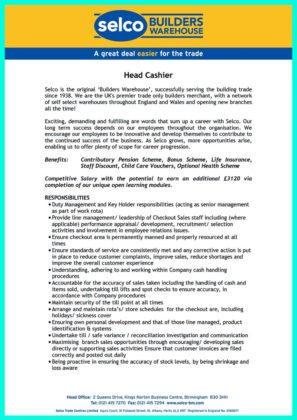 cashier resume description and cashier skills to put on resume