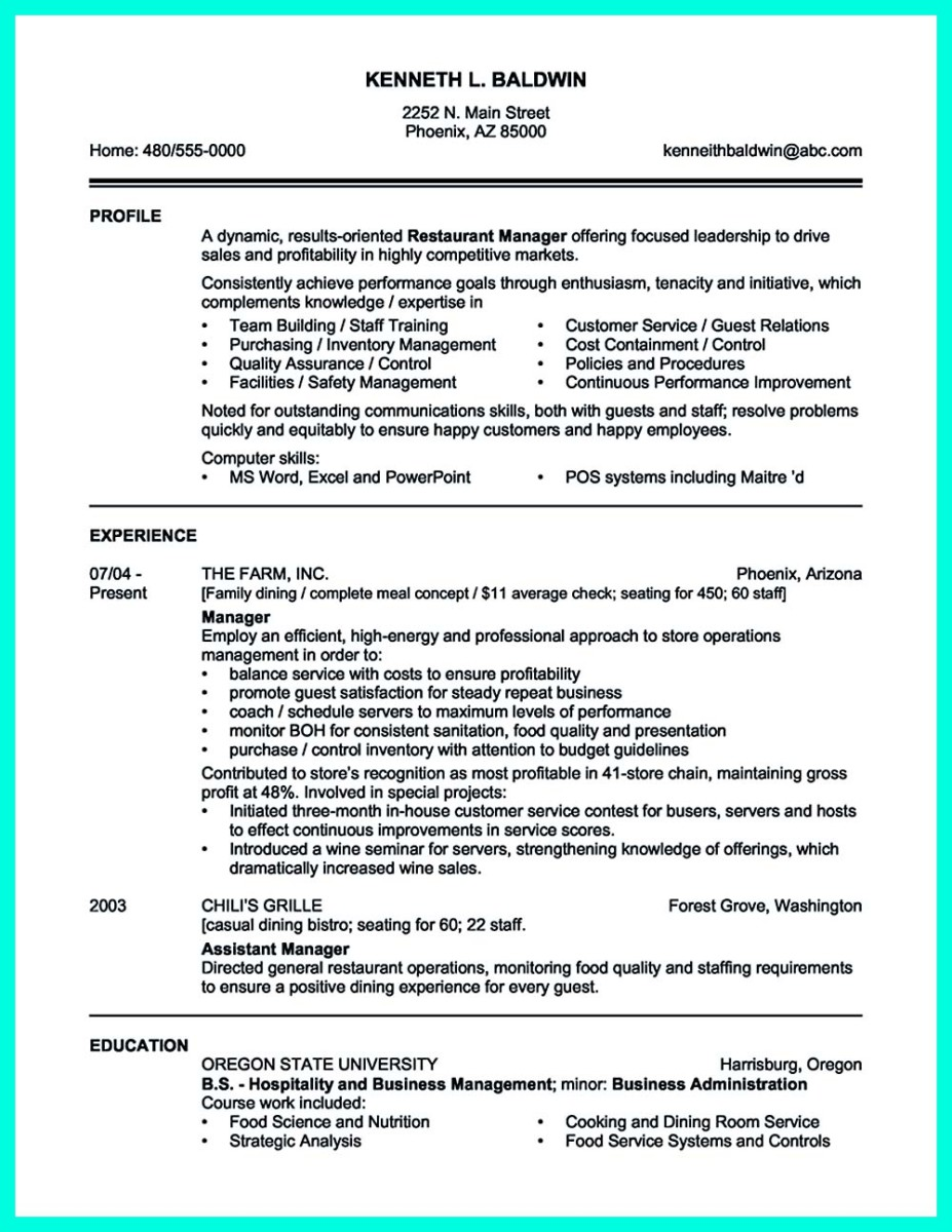 catering director resume sample and hotel catering sales manager resume