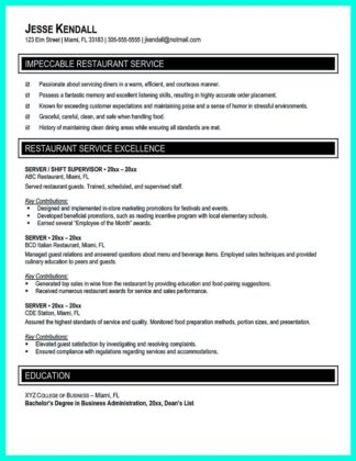catering manager resume sample and hotel catering manager resume